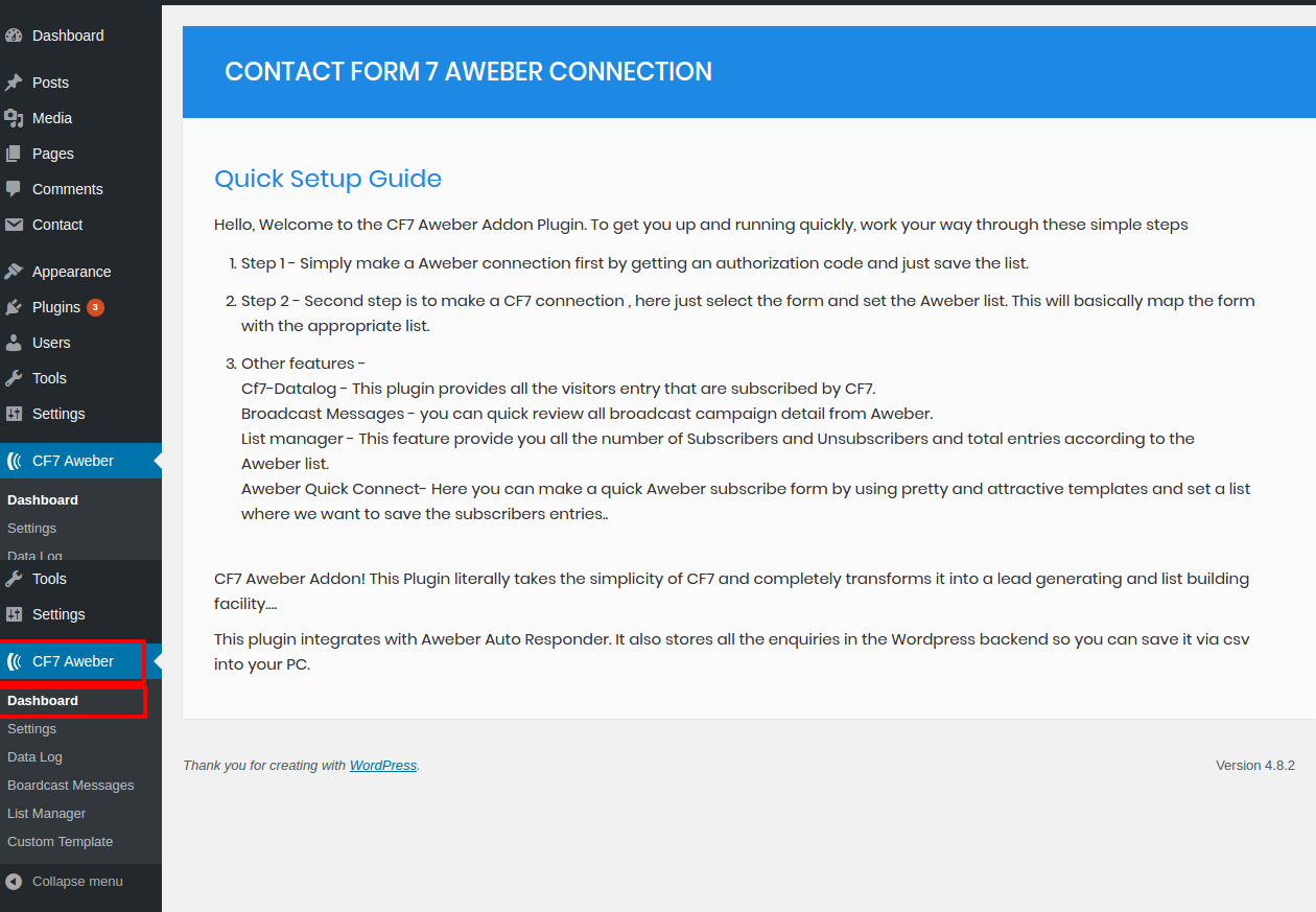 Cf7 Addons Your Own Cf7 Aweber Solution