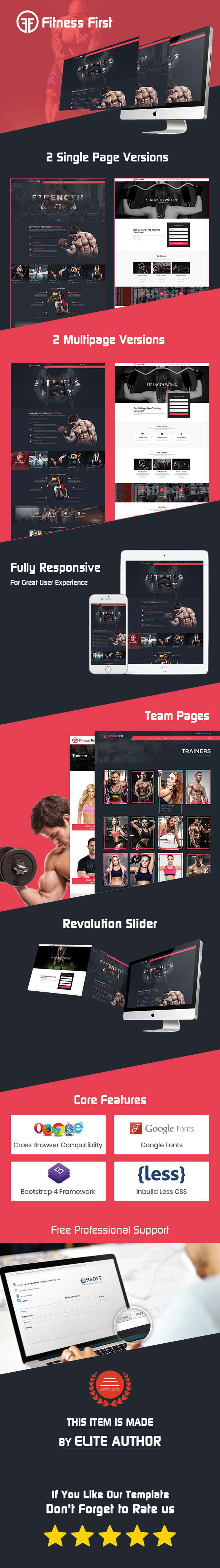 Fitness Gym Html Template - 7