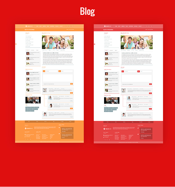 Health Care - Responsive Medical Health Template