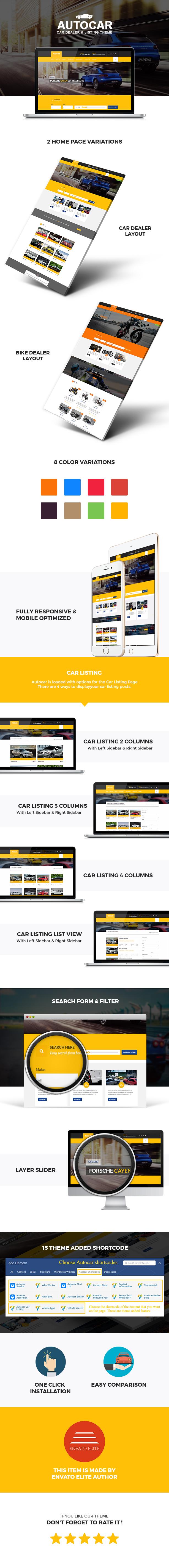 Car Dealer WordPress Theme  - Auto Car - 1