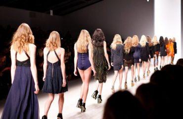 Catwalk Of New Designer Dress